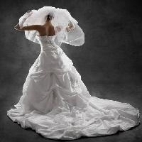 Pixwords The image with woman, bride, dress, white, person Inara Prusakova (Inarik)